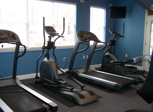 Equipment in the 24 Hour Workout Room